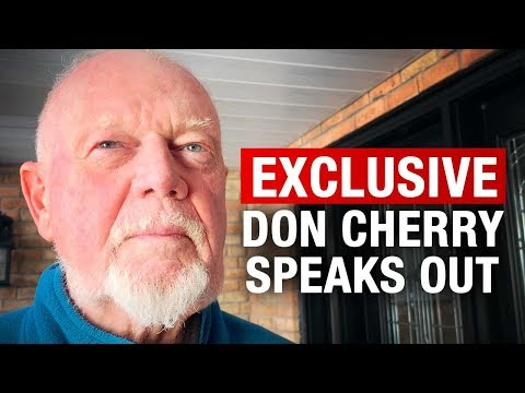 """Don Cherry SPEAKS OUT: Getting fired, Ron MacLean, and being """"a right-winger"""" 