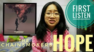 reaction: hope (The Chainsmokers) audio