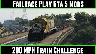 Railroad Engineer (train mod with derailment) - GTA5-Mods com