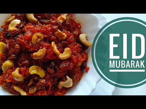 , title : 'Carrot Halwa || క్యారెట్ హల్వా || Eid Mubarak || RR Foods