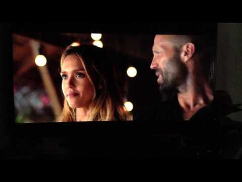 """Mechanic Resurrection"" Jessica Alba & Jason Statham"