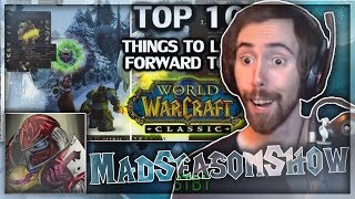 "Asmongold Reacts to ""Top 10 Things To Look Forward To In Classic WoW"" by MadSeasonShow"