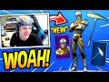 NINJA REACTS TO *NEW* VENTURION SKIN + AIRFOIL PICKAXE! *EPIC* Fortnite SAVAGE & FUNNY Moments