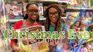 The Frog Vlog: LAST MINUTE Christmas Eve Toy Hunting!