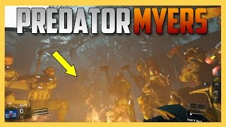 PREDATOR MYERS! - Unlimited Camo Michael Myers match in Black Ops 3 Mod Tools | Swiftor