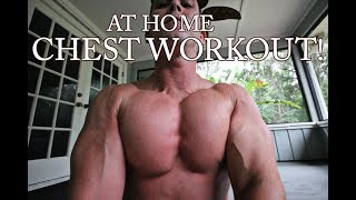 AT HOME Chest/push up workout!! by Corey Hall