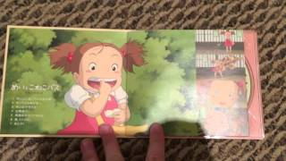Mei and The Kittenbus CD Unboxing
