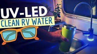UV-LED WATER FILTER for RV LIVING  👌🌊 Acuva Water Purification System
