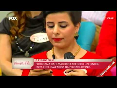 Esra Erol'un adayları canlı yayında birbirine girdi
