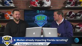 Florida coach Dan Mullen going hard after 5-star UGA QB commit Justin Fields