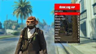 GTA 5 Online Mod Menu PC - D3SKING ViP Mod Menu 1 42 (Undete