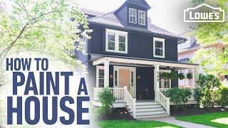 How to Paint a House | DIY Exterior Painting Tips