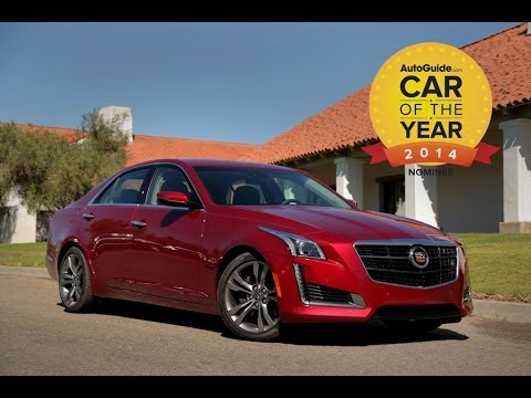 AutoGuide 2014 Car of the Year Finalist No. 2 - 2014 Cadillac CTS