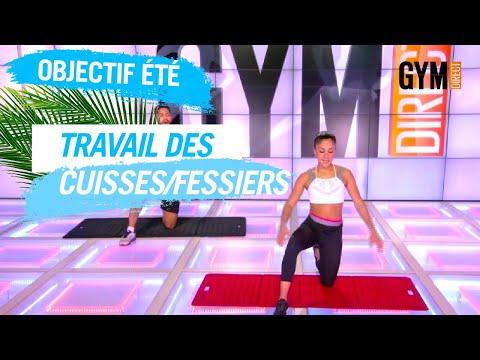 TRAVAILLER LES CUISSES/ABDOS - GYM DIRECT #OBJECTIFÉTÉ