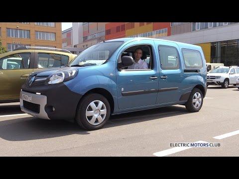 Renault  Kangoo Ze Минивен класса M - тест-драйв 1