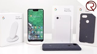 Unboxing the Google Pixel 3 XL and the Pixel Stand - First Impressions