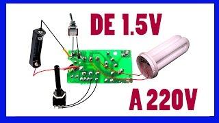 Download Video LADRÓN DE JULIOS DE 1.5V A 220V  Ladrón de julios enciende lámpara de 220V MP3 3GP MP4