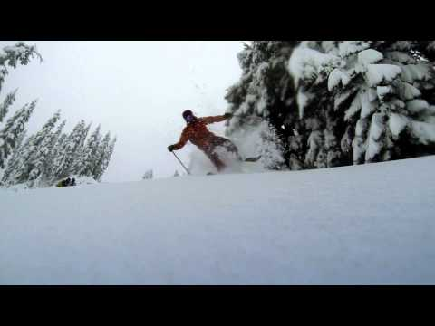 Early Ups - Clips From The Road: Day 1 Mt. Hood Meadows