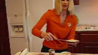 Bettys Deviled Ham-Cream Cheese Finger Sandwiches