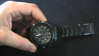 Casio Edifice EQWT720DC-1A Watch Review
