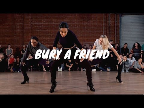 Billie Eilish- Bury A Friend- GALEN HOOKS Choreography Ft. Maddie Ziegler, Charlize Glass - Galen Hooks