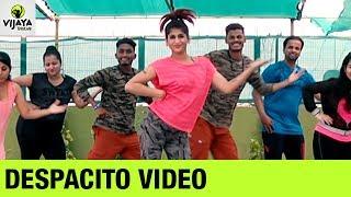 Luis Fonsi DESPACITO Major Lazer Remix   Zumba Workout on DESPACITO Song   Vijaya Tupurani