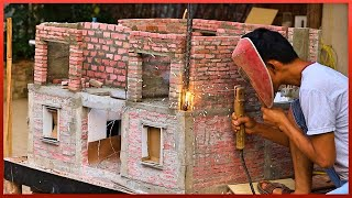 ✅ Amazing Awesome  Small Scale House Construction That are on Next Level 🟥🟩🟦