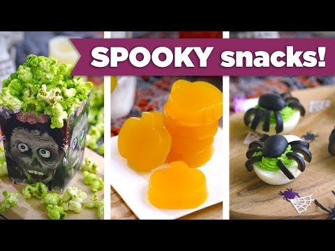 Healthy Spooky Snacks for Halloween! Kid-Friendly Healthy Recipes - Mind Over Munch