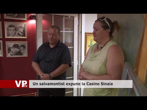 Un salvamontist expune la Casino Sinaia