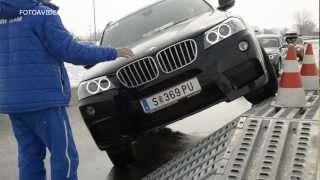 BMW X Drive test 2013 X6, X5, X3, X1