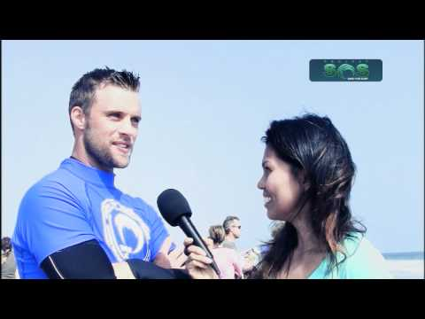 Jesse Spencer Hit the Waves for Project Save Our Surf