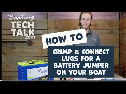 How to Make a Battery Cable for Your Boat