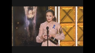 Alexis Bledel Wins Emmy Award For The Handmaids Tale (2017)