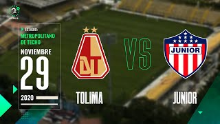 Tolima Vs. Junior LigaBetplay