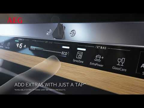 AEG Built In 60 Cm Dishwasher Fully FSS83708P - Fully Integrated Video 2