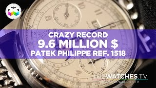 WATCH BIG SPENDER DROP OVER $11 MILLION ON HISTORY'S MOST EXPENSIVE WATCH