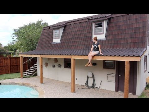 Building a Covered Patio - Part 1