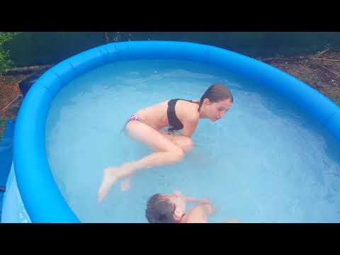 Cap ou pas cap piscine 😄
