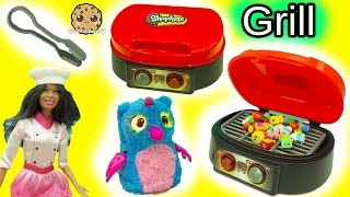Barbie Cooks Chef Club Season 6 Shopkins On Grill - Food For Hatchimals Owlicorn