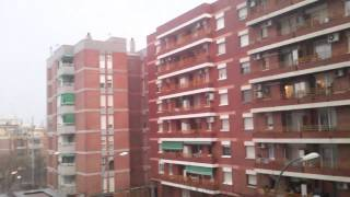 preview picture of video 'Granizo en primavera en Sant Boi de Llobregat'