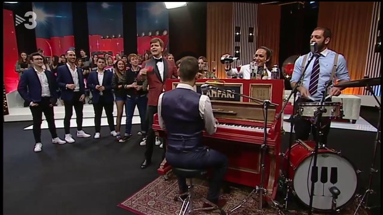 Ao vivo na TV3, canal de televisão da Catalunha.