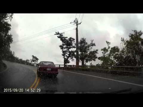 雨天開車還是比較慢一點,好險對象貨車反應夠快