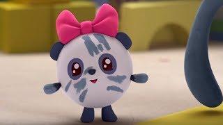 Малышарики - Слон - серия 109 - обучающие мультфильмы для малышей 0-4 - глина