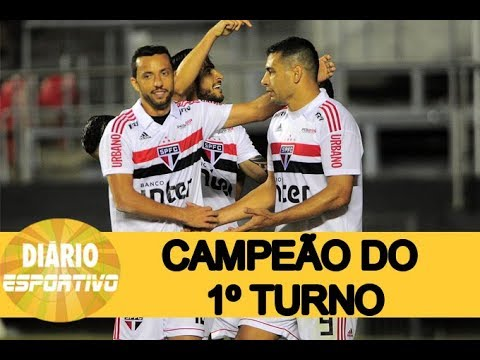 São Paulo vence o primeiro turno do Campeonato Brasileiro