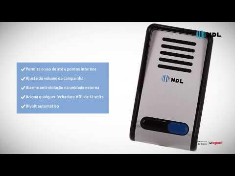 HDL | Porteiro Eletrônico F8-S Ferrari Materiais Elétricos distribuidor de materiais eletrico sorocaba
