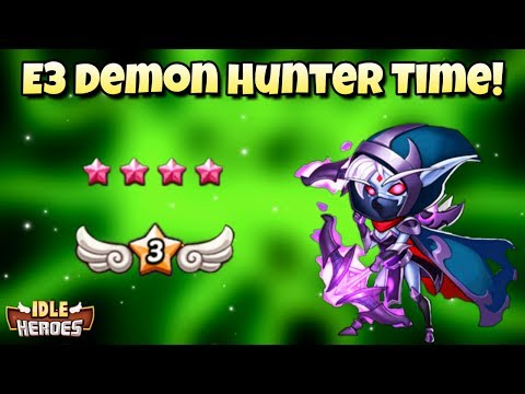 Idle Heroes - 6 Star Demon Hunter - Clyde T  - Video