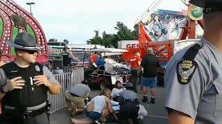 Deadly accident at the Ohio State Fair