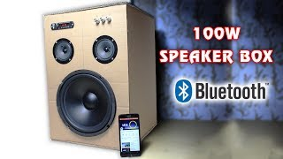 how-to-make-100w-bluetooth-speaker-box-from-cardboard