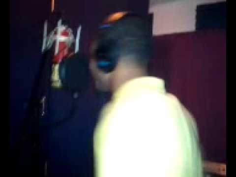 In the booth
