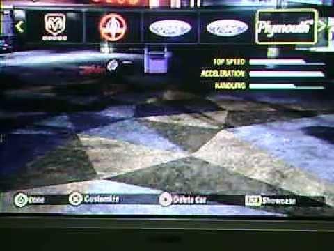 Codigos para NFS Carbon PS2!!?   Yahoo Respostas